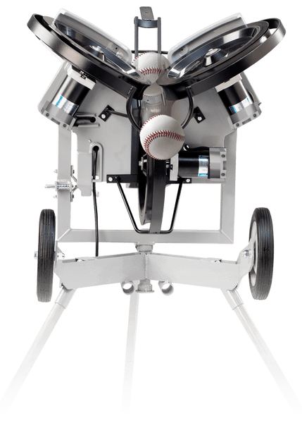 Hack Attack 3 Wheeled Pitching Machine By Sports Attack
