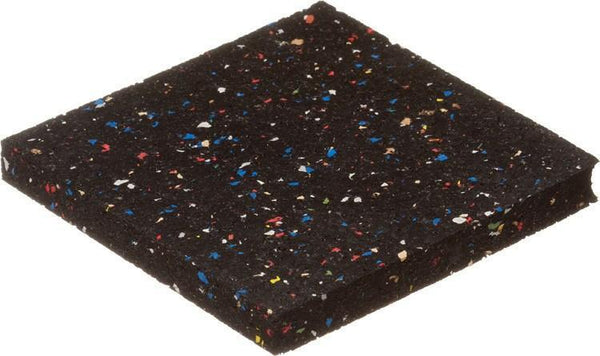 "5/16"" (8mm) Kodiak Confetti Color Regrind Rolled Rubber Flooring"
