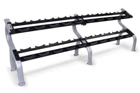Troy 10 Pair Dumbbell Rack DR-10 (rounds)