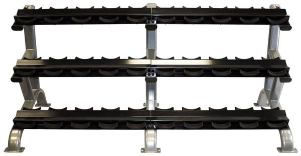 Troy 15 Pair Dumbbell Rack DR-15 (rounds)