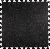 "3' x 3' x 3/8"" (9.5mm) Everlock Commercial Grade Interlocking Tiles"