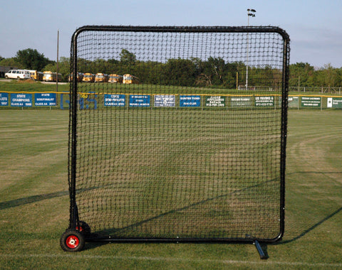 Kodiak 8' x 8' Pro Padded Wheeled Field Screen - Kodiak Sports, LLC - 1