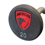 American Barbell Series 4 Urethane Encased Fixed Curl Barbells