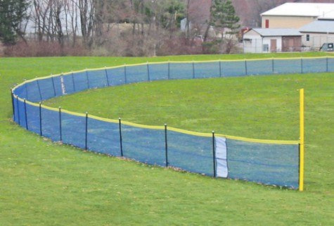 Grand Slam Temporary Fencing for Baseball & Softball Fields - 4' High