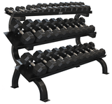 Troy VTX 3 Tier, 15 Pair Dumbbell Rack GTDR-3 (hex,8 sided)