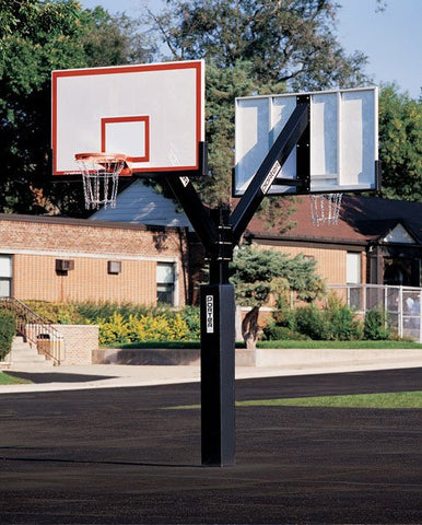 "Heavy Duty 72"" x 42"" Parks & Rec Basketball System"