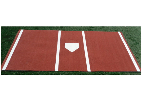 6' x 12' Pro MLB Nylon Synthetic Turf Hitting Mat - Kodiak Sports, LLC - 1