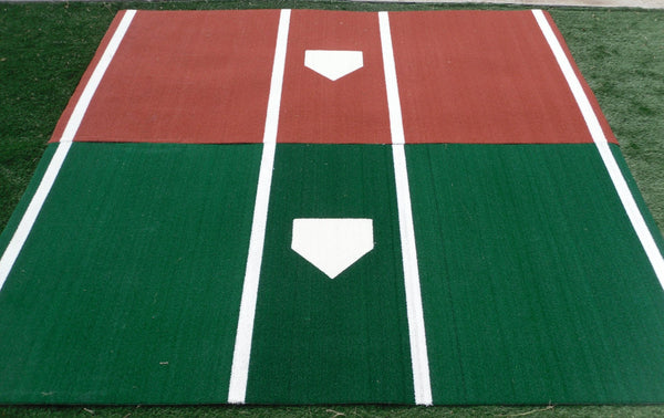 6 X 12 Pro Mlb Nylon Synthetic Turf Hitting Mat Kodiak