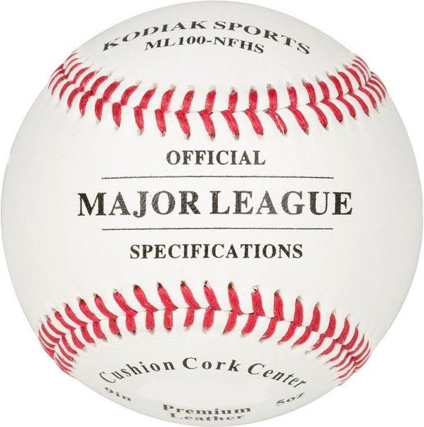 Kodiak MLB Specification Leather Baseball (dozen) - Kodiak Sports, LLC