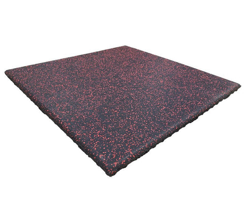 "2' x 2' x 1"" Thick Kodiak Megatile Rubber Flooring - Kodiak Sports, LLC - 1"