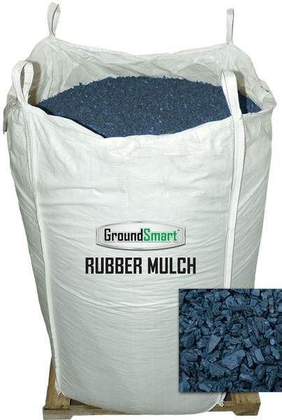 Rubber Mulch Super Sack Blue