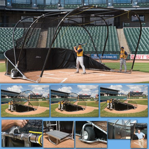 Big Bubba Elite Pro Batting Cage Turtle - Kodiak Sports, LLC - 1