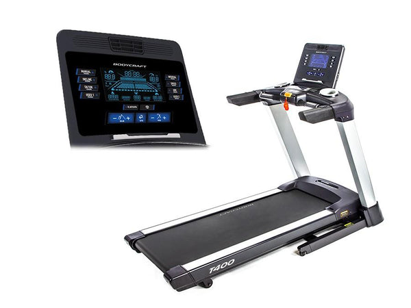 Bodycraft T400 Treadmill (3 display choices)