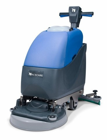 Walk Behind Commercial Rubber Flooring Scrubber - TTB 1120 - Kodiak Sports, LLC