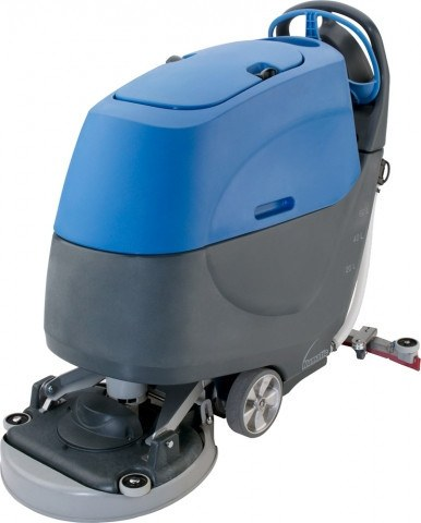 Ride-On Commercial Rubber Flooring Scrubber - TTB 1620 - Kodiak Sports, LLC
