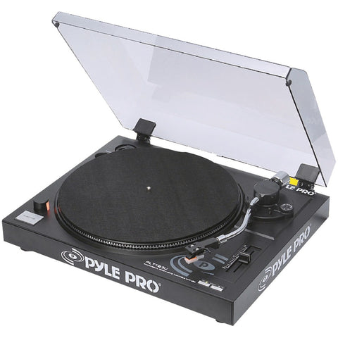 Pyle Pro Belt-drive Usb Turntable With Digital Recording Software
