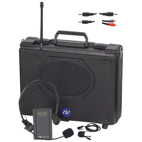 Amplivox Audio Portable Buddy Pa System (wireless)