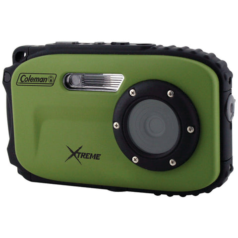 Coleman 12.0 Megapixel Xtreme Waterproof Digital Camera (green)