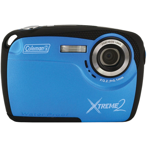 Coleman 16.0 Megapixel Xtreme2 Hd Waterproof Digital Camera (blue)