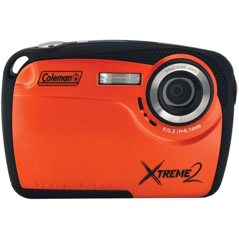 Coleman 16.0 Megapixel Xtreme2 Hd Waterproof Digital Camera (orange)