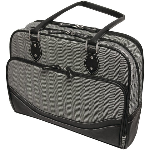 "Mobile Edge Herringbone Briefcase For 14.1"" Notebooks (small)"