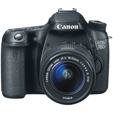 Canon 20.2 Megapixel Eos 70d Digital Slr Camera (with 18mm-135mm Is Stm Zoom)