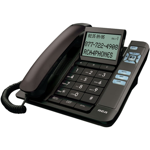 Rca Corded Desktop Phone With Caller Id (black)