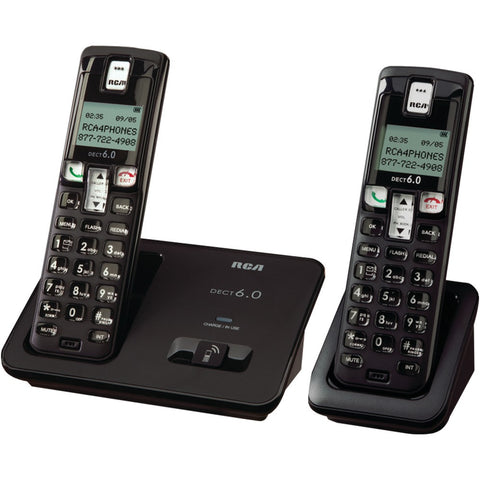 Rca Dect 6.0 Cordless Phone With Caller Id (2-handset System)