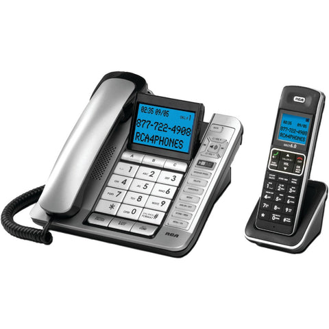 Rca Corded And Cordless Combo With Caller Id & Digital Answering System