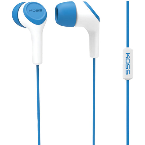 Koss Keb15i In-ear Earbuds With Microphone (blue)
