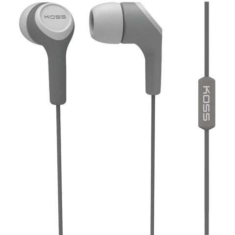 Koss Keb15i In-ear Earbuds With Microphone (gray)