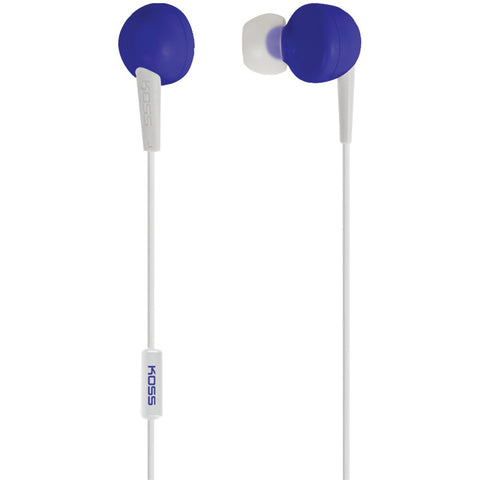 Koss Keb6i In-ear Earbuds With Microphone (blue)
