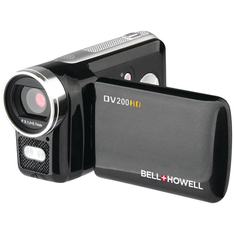 Bell+howell 5.0 Megapixel Dv200hd High-definition Digital Video Camcorder