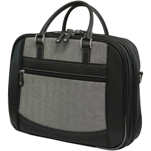 "Mobile Edge 16"" Herringbone Large Checkpoint Friendly Laptop Bag"