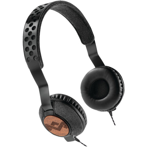 House Of Marley Jammin' Liberate On-ear Headphones With Microphone (midnight)
