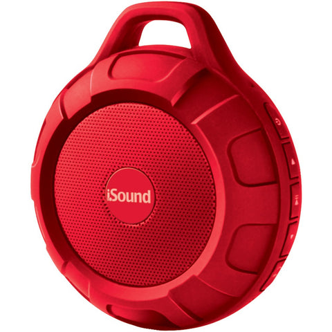 Isound Duratunes Water-resistant Bluetooth Speaker (red)