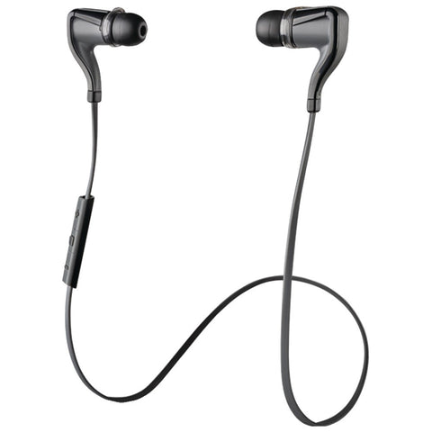 Plantronics Backbeat Go 2 Bluetooth Earbuds With Microphone (black)