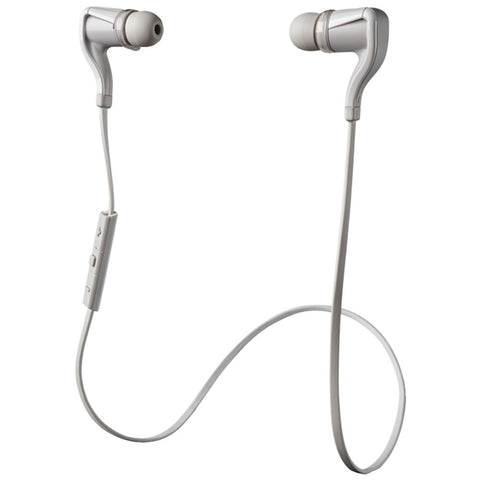 Plantronics Backbeat Go 2 Bluetooth Earbuds With Microphone (white)