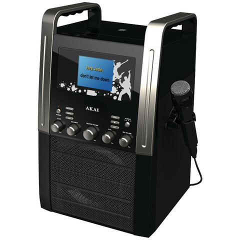 "Akai Cd+g Karaoke Player With 3.5"" Screen"
