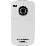 Bell+howell 5.0 Megapixel 1080p Take1hd Digital Video Camcorder Wtih Flip-out Usb (white)