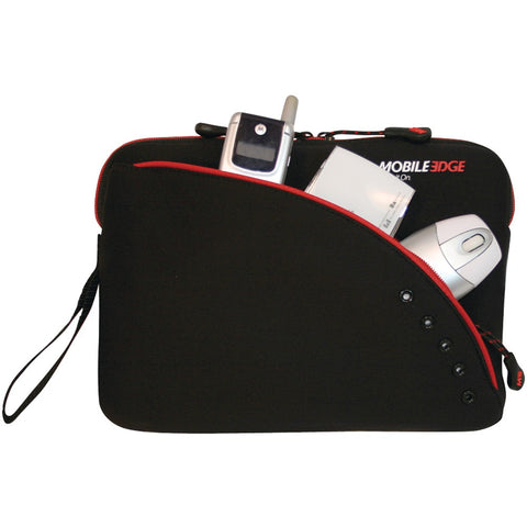 "Mobile Edge 8.9"" Ipad And Tablet Sleeve (black & Red)"