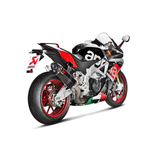 Akrapovic Evolution Full Titanium Exhaust Aprilia RSV4 RF 2015-2019
