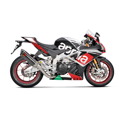Akrapovic Evolution Full Titanium Exhaust Aprilia RSV4 RF 2015-2017