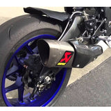 Akrapovic GP Titanium Slip-On Exhaust for Yamaha R1 / R1S / R1M 2015 to 2018