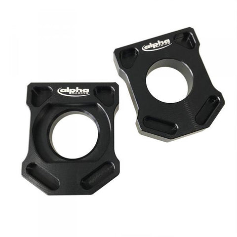 Alpha Racing Chain Adjuster Axle Blocks for BMW S1000RR 2019 2020