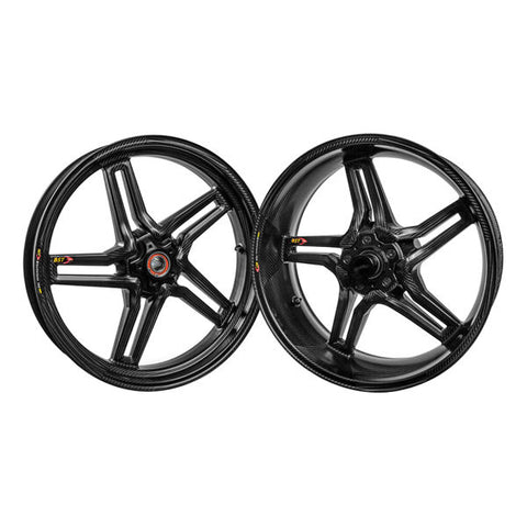 Copy of BST Rapid TEK Carbon Fiber Wheel Set for Aprilia RSV4 / Tuono