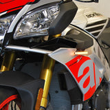 NRC Front Flush Mount LED Turn Signals for Aprilia Tuono V4 1100