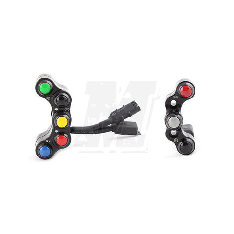 Street Handle Bar Switch Panels for BMW S1000RR 2009-2014 and HP4 2013-2014