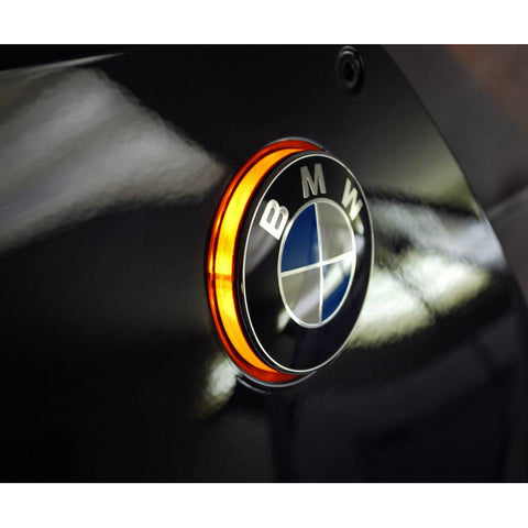 BMW S1000RR LED Roundel Emblem Turn Signals