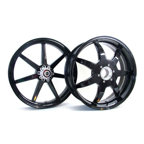 Bst 7 Spoke Carbon Fiber Wheel Set For Ducati Panigale V4 V4s V4r